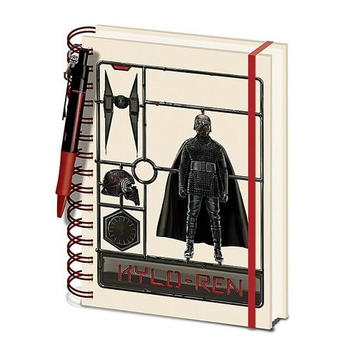 Star Wars Kylo Ren A5 Wiro Notebook Note Pad and Pen Set